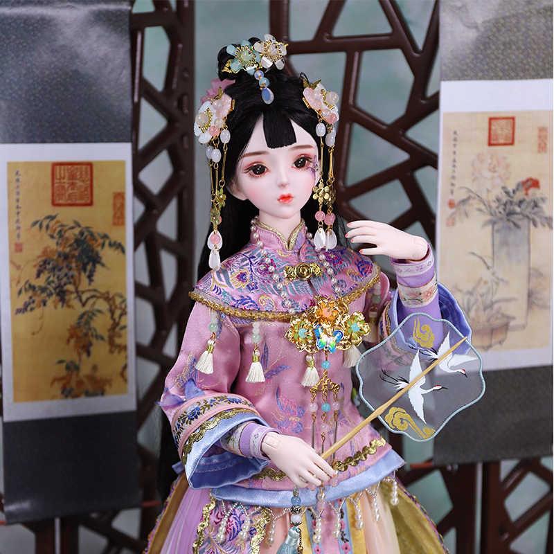 DBS 1/3 BJD boneca Blyth mecânica conjunta Corpo Com maquiagem, Incluindo o cabelo, olhos, roupas 62cm de altura meninas, SD