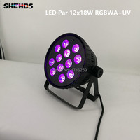 2pcs Lot Aluminum Alloy LED Par12x12W And 12x15W And 12x18W Wash Light For Event Disco Party