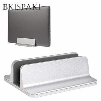 Vertical Adjustable Desktop Laptop Stand Aluminium Portable Notebook Mount Support Base Holder for MacBook Pro Air Accessory