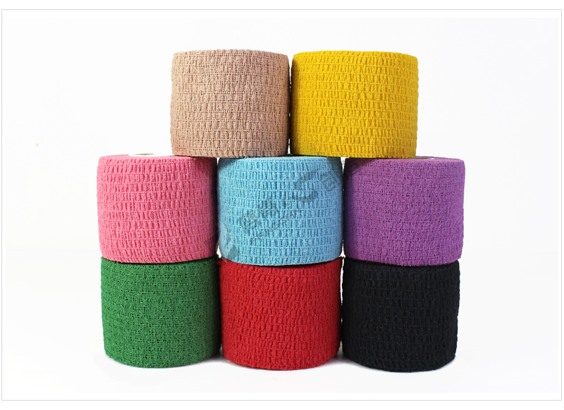 Security & Protection Colorful Self Adhesive Elastic Bandage Wrap Tape 7.5m Elastoplast For First Aid Kit Cohesive Bandage Medical Treatment Tool
