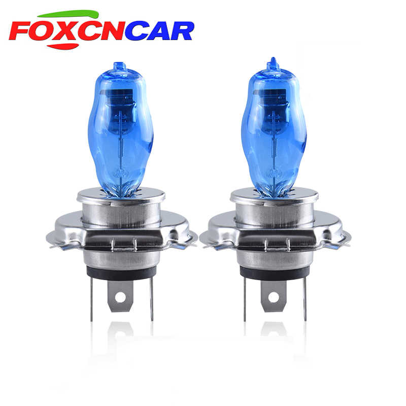 1PCS Car Halogen Lamp Moto lamp light 55W 100W H1 H3 H4 H7 H8 H9 H11 Auto Halogen Bulb Fog Lights 12V 6000K Headlights Lamp 24V