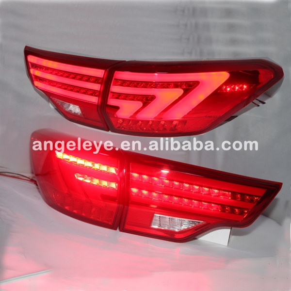 For Toyota for Highlander LED Rear Lights Taillamp Red Color 2014-2015 year BZW
