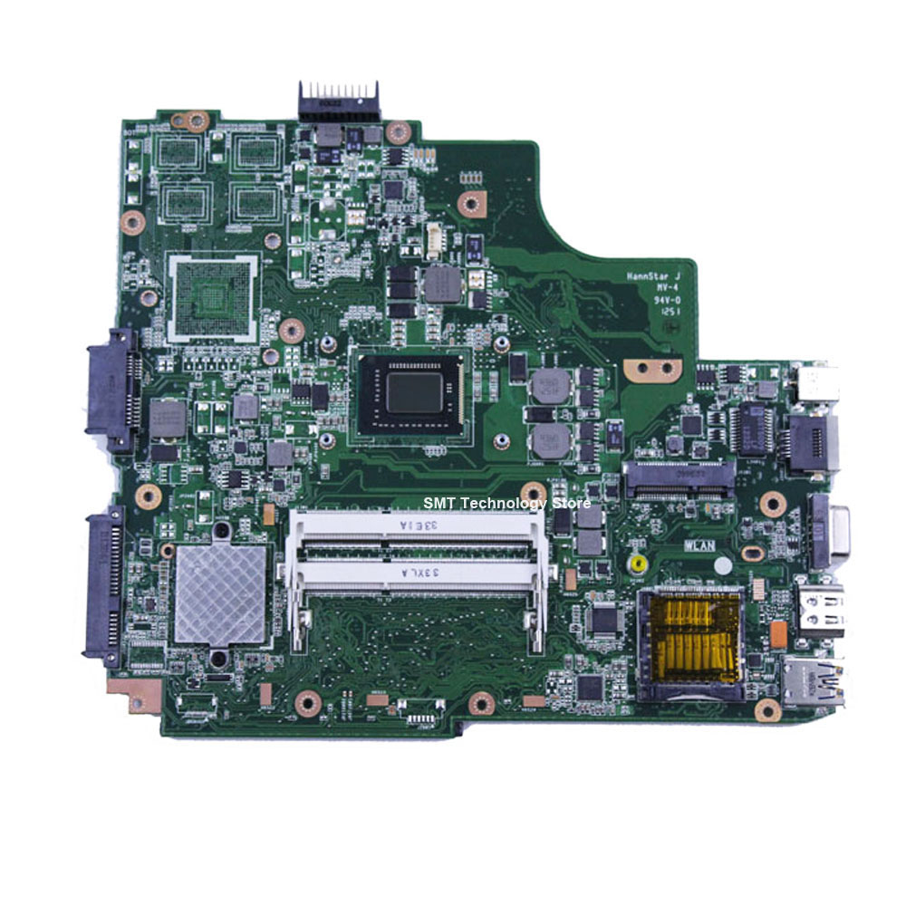 K53SD laptop motherboard mainboard system board  integrated rev 2.0 100% tested free shipping free shipping laptop motherboard for asus g60vx series mainboard system board