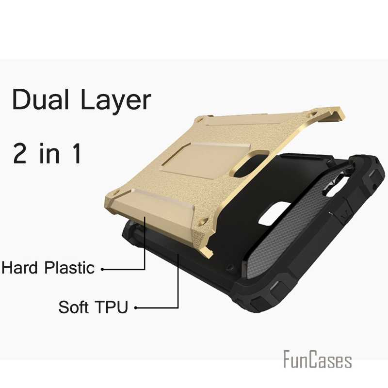 Per il caso di Huawei P9 P8 Mate 8 Contro Bussare cassa Dell'armatura di plastica TPU caso ibrido per Huawei Ascend P8 lite p9 lite custodia in silicone coque