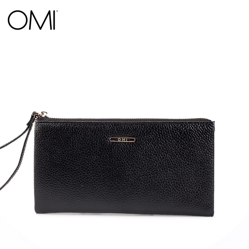 OMI Women s wallet Women s bag Female s purse ladies long wallet genuine leather purse