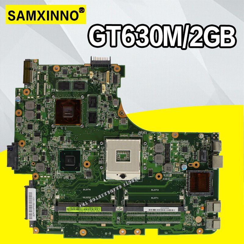 N53SM Motherboard 2*Slots GT630M For ASUS N53S N53SV N53SN N53SM Laptop Motherboard N53SM Mainboard N53SM Motherboard Test OK