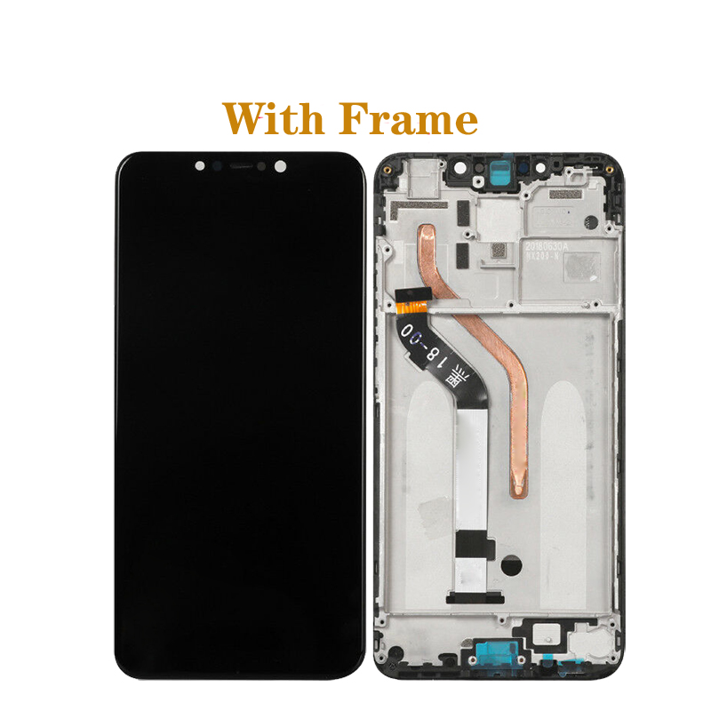 "Image 2 - 6.18"" 100% original display For Xiaomi Pocophone F1 LCD+ touch screen digitizer component for Xiaomi poco F1 LCD repair parts-in Mobile Phone LCD Screens from Cellphones & Telecommunications"