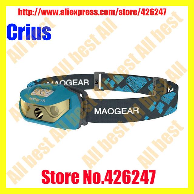 Frete grátis Maogear SUNREE Crius 120 lumen execução farol Original AAA bateria à prova d ' água LED Head Lamp luz farol