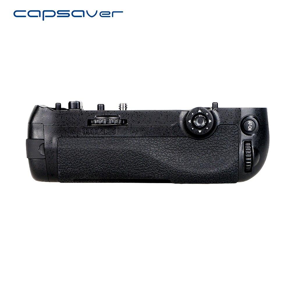 Aperto Da Bateria Vertical para o Nikon D850 capsaver DSLR Camera Multi-Suporte De Bateria Substituição MB-D18 Trabalhar com EN-EL15