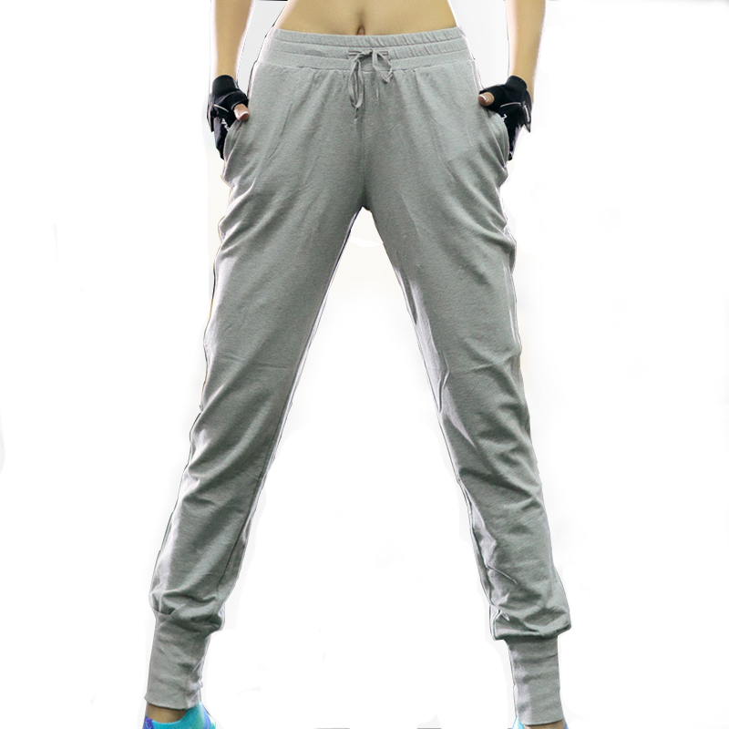 Women Cotton Yoga Pants Breathable Trousers High Elastic Lady Girls Gym Fitness Sports Exercise Running Practise Pants XXL