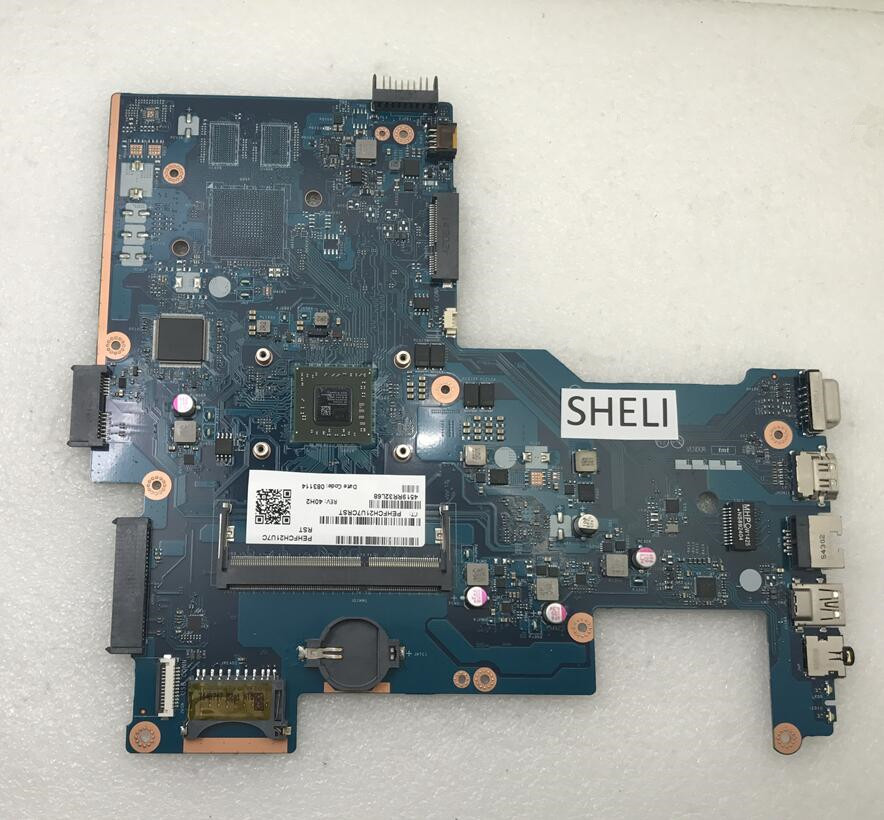 SHELI 764265-501 764265-001 764001-001 For HP 15-G Laptop Motherboard With A4-6210 LA-A996P 100% Tested Good Working