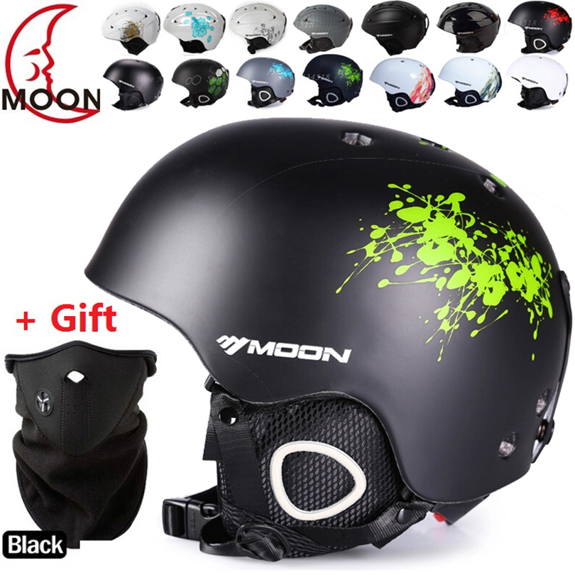 Sports Helmets: New brand Ski helmet Ultralight and Integrally-molded professional Snowboard helmet men Skating/Skateboard helmet Multi Color
