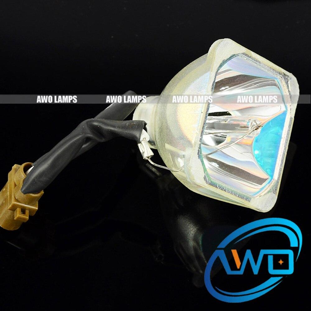 AWO High Quality ET-LAB50 Replacement Projector Bare Bulbs for Panasonic PT-LB50EA PT-LB50NTEA PT-LB50SE PT-LB50SU,PT-LB50U, awo quality compatible projector bulb pt lm1 pt lm2 pt lm1u pt lm2u bare only for panasonic et lam1