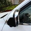 ABS Chrome Für Geely Atlas 2016 2017 2018 Zubehör Auto rückspiegel block regen augenbraue Abdeckung Trim auto styling 2 stücke-in Chrom-Styling aus Kraftfahrzeuge und Motorräder bei