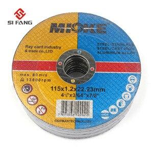 Image 5 - Dischi da taglio in metallo e acciaio inossidabile da 115mm ruote da taglio dischi abrasivi per levigatura dischi smerigliatrice angolare 5 pezzi 50 pezzi