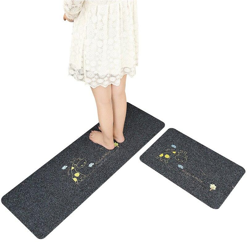 Non slip Carpet For Bathroom Large Antislip Douche Bathroom Mat Carpet For Toilet Anti slip Bath Mats Doormat Room Mat 2pcs/set