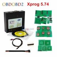 Новое поступление Xprog 5,74 EEPROM Immo программатор блоков управления Xprog M V5.74 ECU программирование лучше, чем Xprog 5,72 Бесплатная доставка