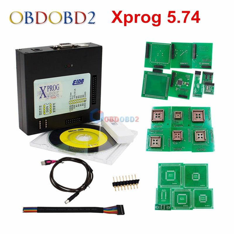 New Arrivals Xprog 5.74 EEPROM IMMO ECU Programmer Xprog-M V5.74 ECU Programming Better Than Xprog 5.72 Free Shipping