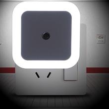 Litwod Z90 auto home Smart LED Light Induction Sensor Control Bedroom night Light baby Bed Lamp US/EU Plug Lamp 850V-265V 0.5W