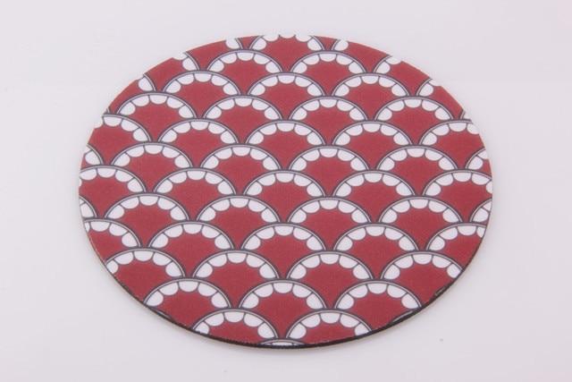 kaws teeth circular mouse pad retail wholesales for optical