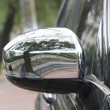 Дверь ветер зеркало заднего вида декоративная Защитная крышка отделка Стикеры для land rover discovery 5 lr5 внешние аксессуары