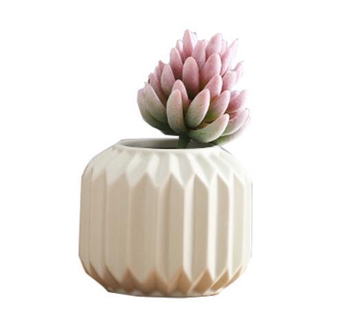 Silicone moule latérn forme design moderne en céramique pot de fleur créatif sec fleur pliant décoration de la maison ciment 3d vase moules