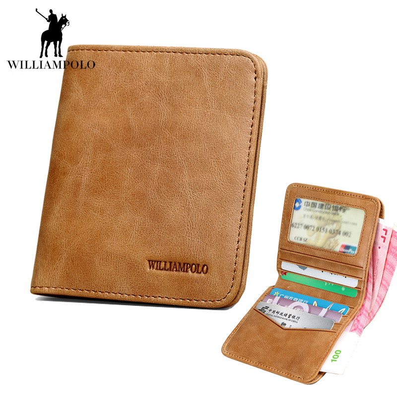 100% Genuine Leather Wallet Vintage Luxury Quality  Ultra Thin Male Wallets  Purse Male Wallet Cow Leather Purse Men 2017 NEW lan men s wallet ultra thin cow leather long wallet designed simple wallet
