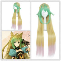Japanese Anime Fate/Apocrypha WOMEN Atalanta cosplay wig Archer Atalanta role play long hair costumes