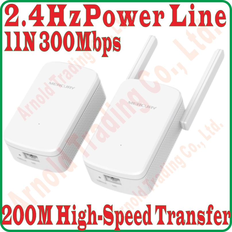 Better than Tenda PH5 200Mbps Powerline Adapter 300Mbps Wireless Wifi Router Extender Kit for Fast Network