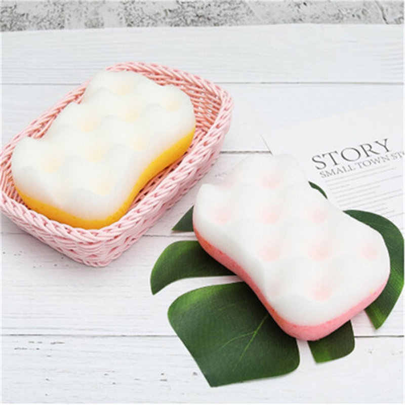 Hot Sell High Quality Skin Care Bath Sponge Comfortale Body Scrubber Shower Massage Bathing Brush Useful Popular