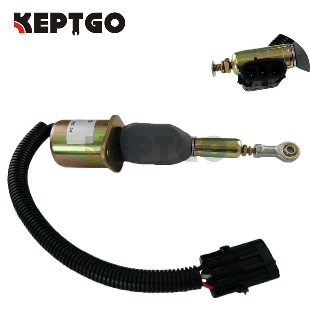 716/30147 71630147 716-30147 24V Stop Solenoid For JCB Wheel Loader 446 456 плоскогубцы jcb jpl005