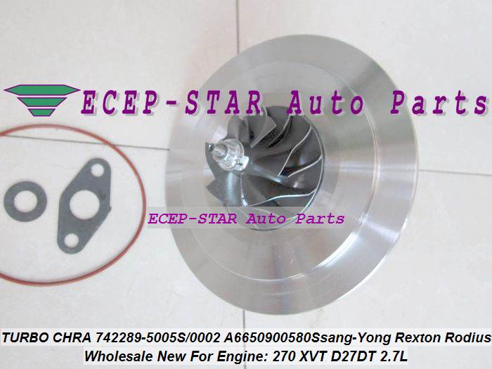 Automobiles & Motorcycles Modest Turbo Cartridge Chra Gt2056s 742289 742289-5003s 742289-0001 A6650901780 A6640900580 For Ssang-yong Rexton Rodius 270 Xvt D27dt Nourishing The Kidneys Relieving Rheumatism Air Intakes
