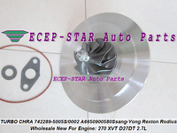 Turbo Patrone CHRA GT2056S 742289 742289-5003S 742289-0001 A6650901780 A6640900580 Für Ssang-Yong Rexton Rodius 270 XVT D27DT