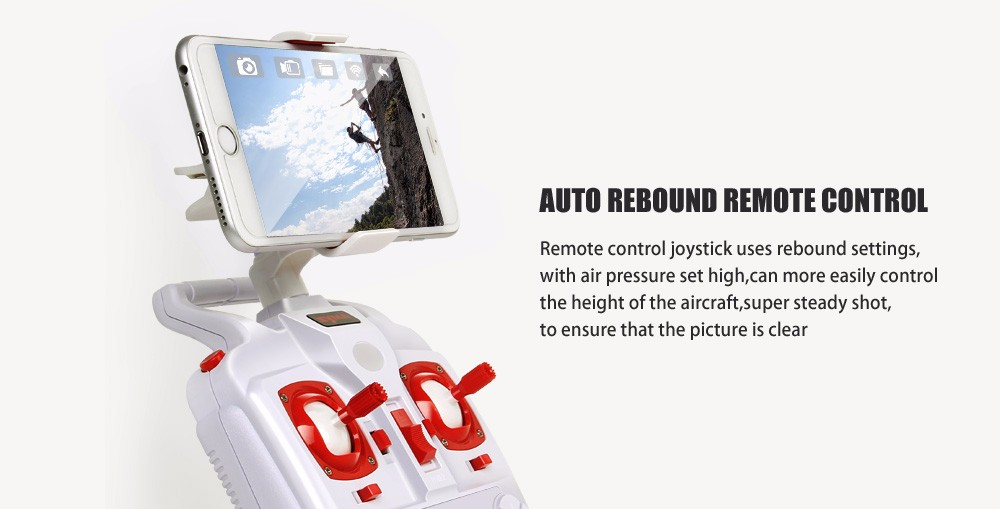 SYMA Official X8HW FPV RC Drone with WiFi HD Camera Real-time Sharing Drones Helicopter Quadcopter Dron with Hovering Function 12