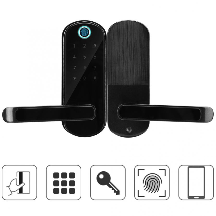 Fingerprint Door lock Smart Bluetooth Digital Password IC Karte Key Hot Sale