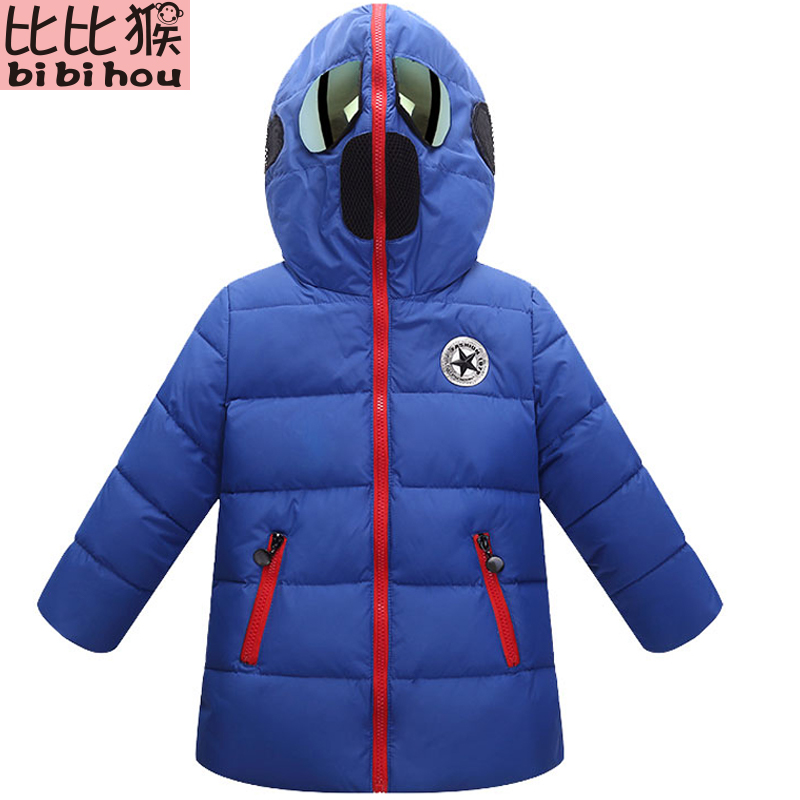 Boys Winter Coat Baby boys Hooded Jacket glasses Parka Kids Outerwear childen winter jackets for Boys down Jackets Coats for 10 new men s military style casual fashion canvas outdoor camping travel hooded trench coat outerwear mens army parka long jackets