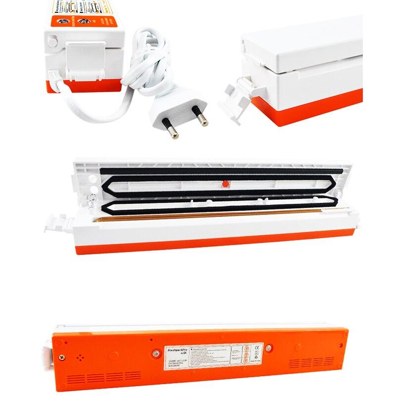 Image 3 - ATWFS Vacuum Sealer Packing Sealing Machine Best Portable Food Vaccum Sealer Kitchen Packer with 15pcs Vacuum Bag for Food Savermachine vacuumfood vacuumfood vacuum sealer -