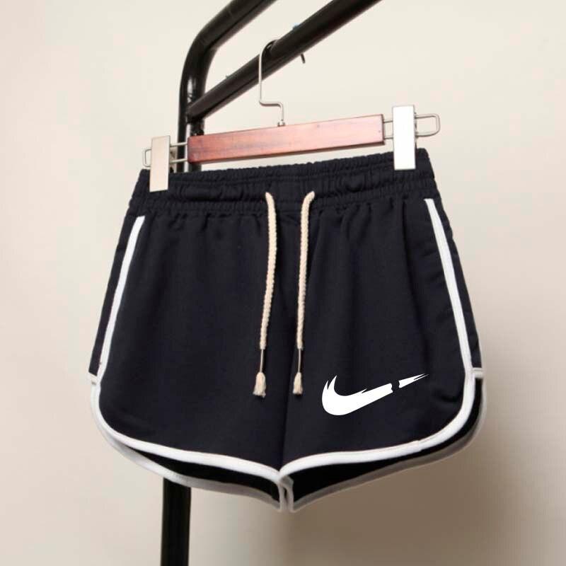 Engraçado impresso Shorts Mulheres Patchwork Corpo Treino de Fitness Verão Shorts Fêmeas Elásticas Skinny Slim Praia Egde Curto Quente