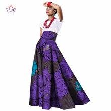 2018 summer african women clothing Long Maxi Dashiki for women Bazin riche robe longue femme Plus Size print cotton skirt wy1063