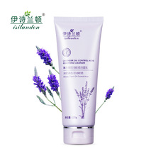 ISILANDON Oil Control Face Cleanser Lavender Remove Dirt Acne120g Skin Care Whitening Moisturizing Hot Sales 2016