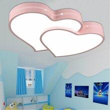 Дети лампы Для внутреннего освещения дома светодиодные luminaria Спальня Кухня освещение Современная детская комната освещение потолочные светильники дети