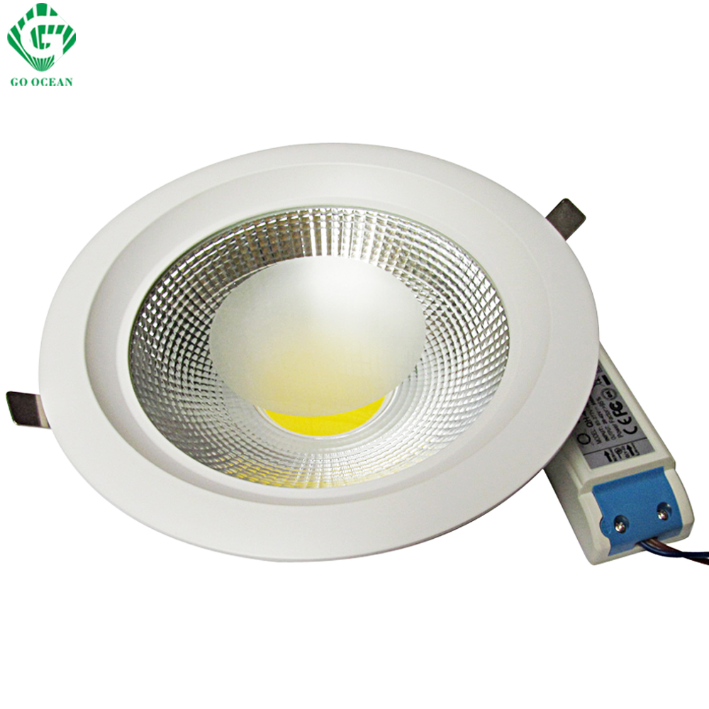 Downlights LED White Down Light 7W 10W 15W 20W 30W Dimmable Downlight Recessed Ceiling Spot Lamp