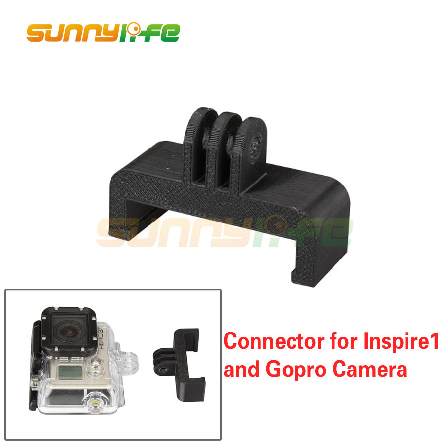 Camera Holder Connector accessories for DJI Inspire 1 and Gopro Camera Multicopter Drones 3D Printed Version