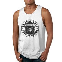 Smokey Keep It Green LicensedT Shirts Body Building Tank Top Male Vest Clothing