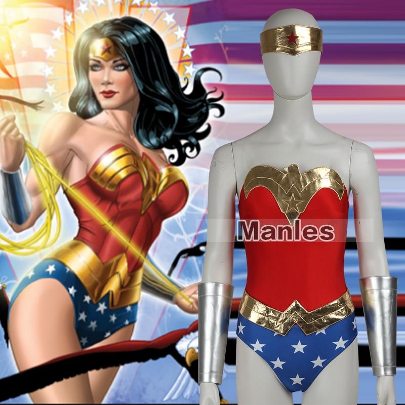 Wonder Woman Costume Diana Prince Superhero Costume -4630