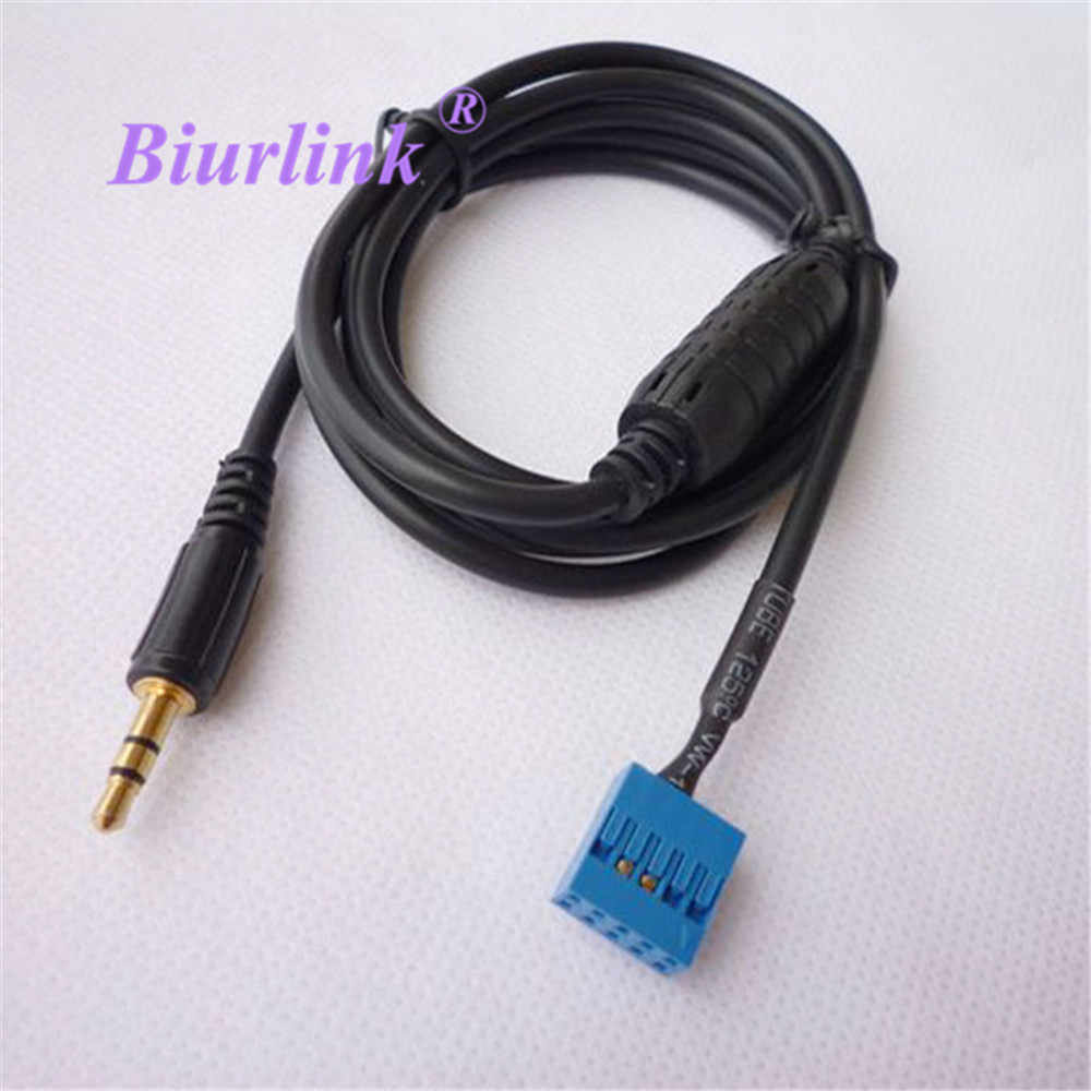 3.5mm Car Audio Auxiliary Aux In Input Interface Adapter MP3 Music Cable for BMW E53 E39 X5 E46 1998-2006 Car Auxiliary Input MP3 Cable