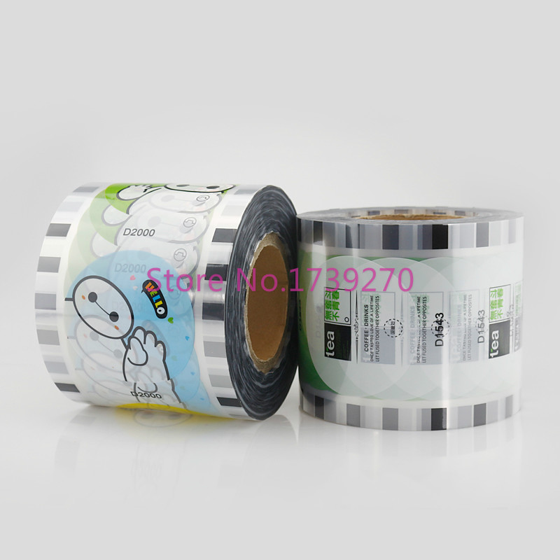 2017 new arrival disposable bubble tea/milk tea/plastic cup sealing  film for diameter 90cm/95cm cup, paper cup sealing film haw slice tea fresh premium hawthorn dry film big tank 220g tea flowers