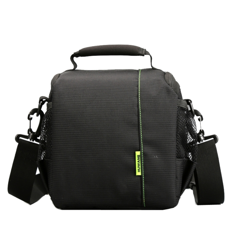 лучшая цена PULUZ DSLR Camera Bag Portable Waterproof Scratch-proof Outdoor Sports Adjustable Sling Shoulder Bag Handbag DSLR Camera Bag