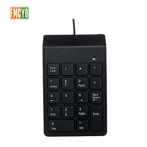Image 1 - USB Cable Numeric Keypad Bank Financial Accounting Payment Portable 18 key Password Numeric Keypad