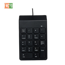 USB кабель цифровая клавиатура банк финансового Бухгалтерия оплаты Портативный 18 ключ пароль цифровая клавиатура